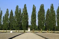 Dachau-Konzentrationslager stockfotografie