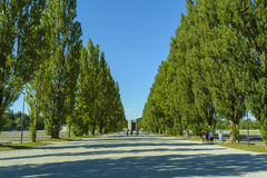 Dachau Konzentrationslager Stockfoto