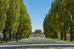 Dachau Konzentrationslager Lizenzfreies Stockfoto