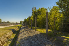 Dachau Konzentrationslager Stockbild