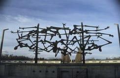 Dachau-Konzentrationslager-Denkmal Lizenzfreies Stockfoto