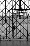Dachau (maingate) royaltyfria bilder
