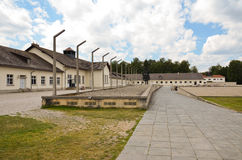 Dachau - memorial and barracks royalty free stock images