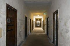 Dachau Nazi Concentration Camp - Duitsland Stock Foto's