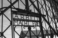 Dachau Nazi Concentration Camp - Duitsland Royalty-vrije Stock Fotografie