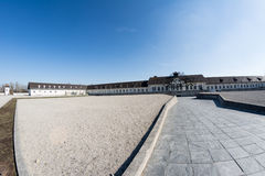 Dachau Nazi concentration camp Royalty Free Stock Photo