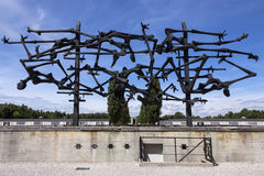 Dachau Nazi Concentration Camp - Germany Royalty Free Stock Photo