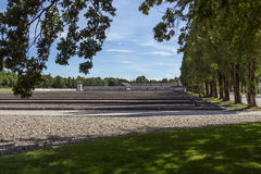 Dachau Nazi Concentration Camp - Germany Stock Image