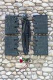 Dachau Nazi Concentration Camp - la Germania Fotografie Stock Libere da Diritti