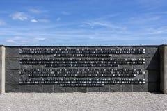 Dachau Nazi Concentration Camp - la Germania Fotografia Stock Libera da Diritti