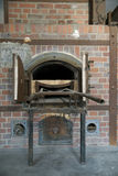 Dachau Oven. This is an oven in the crematorium at the Dachau concentration camp in Germany Royalty Free Stock Photography