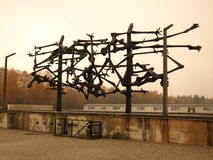 Dachau (skulptur) arkivfoto