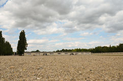 Dachau-square of appeals Royalty Free Stock Photos