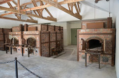 Dachau - ugnscrematoria 2 Arkivbild