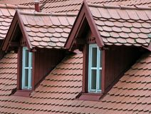 Dachböden Stockfotografie