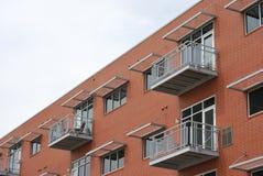 Dachboden-Art-Häuser Stockfotos
