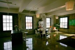 Dachboden-Eigentumswohnung Stockfotos
