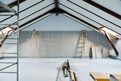 Dachbodenerneuerungen Lizenzfreies Stockbild