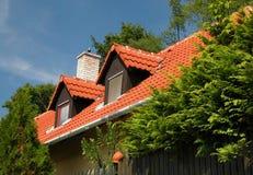 Dachbodenräume stockfotografie