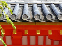 Dachdetail Stockfoto