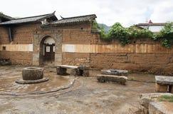 Dacheng by utanför Dali arkivfoto