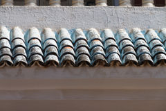 Dachfliesen stockfotos