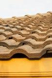 Dachgesimse in Thailand-Haus Stockbilder