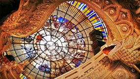 Dachglasdekoration Lizenzfreie Stockfotografie