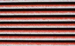 Dachhintergrund roter Fliesen Abtract Stockbilder