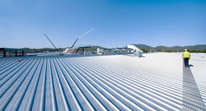 Dachmaterial Stockbild