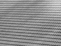 Dachmuster in der diagonalen Richtung Stockfotos
