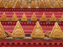 dachowa świątynia Obrazy Stock