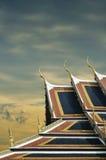 Dachowa świątynia Zdjęcia Stock