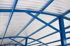Dachowa izolacja materiału część housetop zdjęcie royalty free