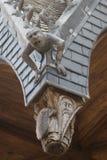 Dachowa ornamentacja fotografia royalty free