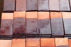 dachowa płytka Obraz Stock
