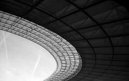 Dachowa struktura Olimpijski stadium fotografia royalty free