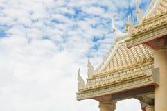 dachowa szczegół świątynia zdjęcie royalty free