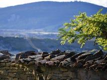 Dachowe płytki w Hiszpania zdjęcia stock
