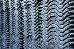 Dachowe płytki z szarość kolorem fotografia stock