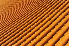 Dachowe płytki Chińska świątynia obraz royalty free