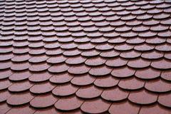 Dachowe płytki na dachu zdjęcie stock