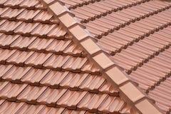 Dachowe płytki Fotografia Royalty Free