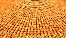 Dachowe płytki na budynku w Singapur Obraz Royalty Free