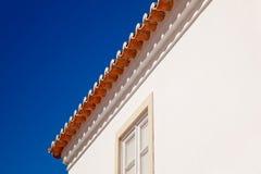dachowe terakotowe płytki Zdjęcia Royalty Free