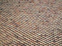 Dachowe wzorzystość płytki Fotografia Royalty Free