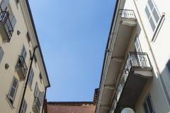 Dachowi mieszkania w antycznym mieście -3 Obrazy Royalty Free