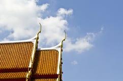 dachowy świątynny tajlandzki Obraz Royalty Free
