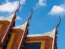 dachowy świątynny tajlandzki Zdjęcia Stock