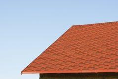 dachowy błękit niebo Fotografia Stock